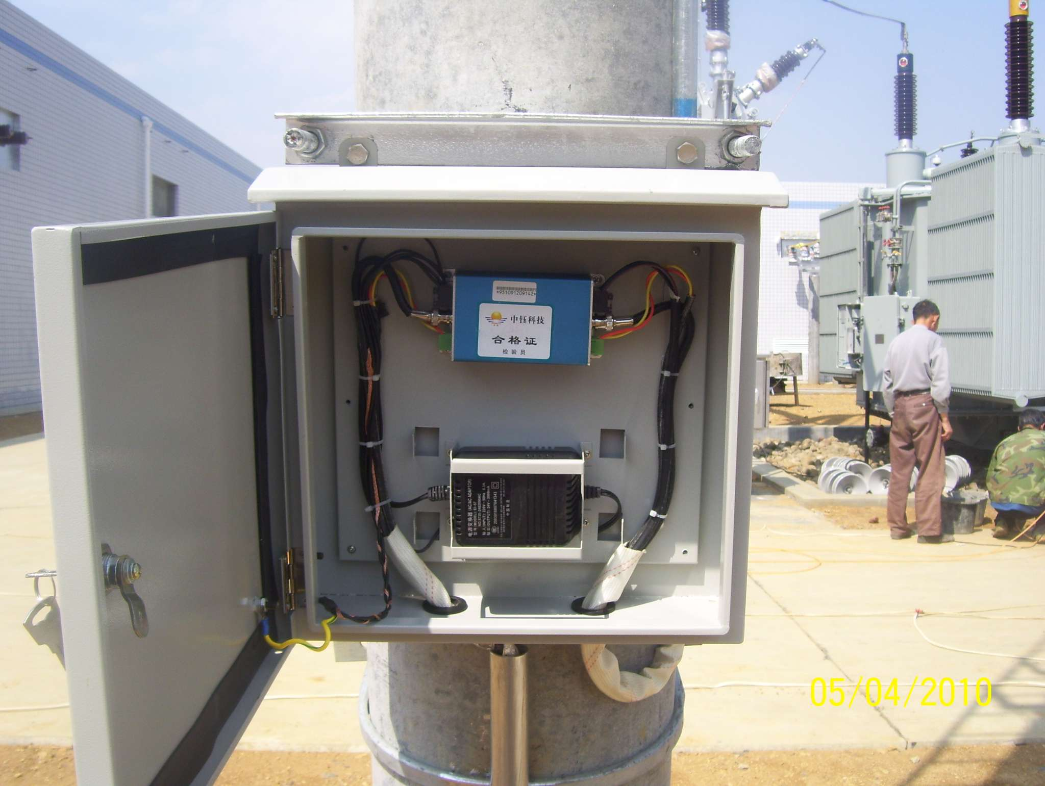 设备箱安装接线图